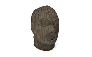 3D face mask terrorist model