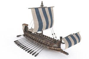 3ds ancient ship