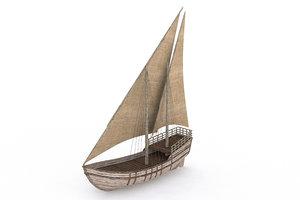 ancient ship model