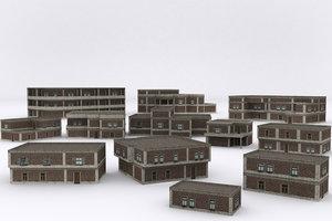 old building v2 3D model