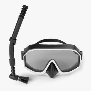 snorkel pbr 3D model