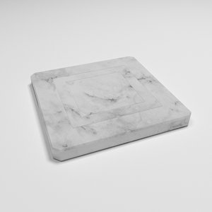 3D marble coaster
