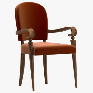 3D maxime old chair