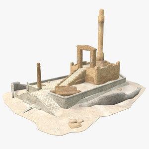 3D - persian building