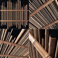 Bamboo gutter decor n1