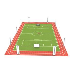 3D hockey ground