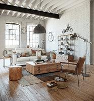 Industrial Living interior scene
