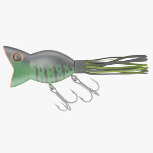 lure fishing 3D model