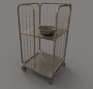 cage pbr 3D