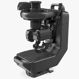 3D model canon robotic camera cr