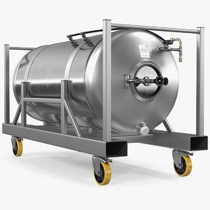 beer storage tank 3D model