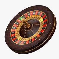 Modern Roulette Wheel