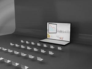 3D event exhibition setup