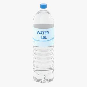 3D water bottle l