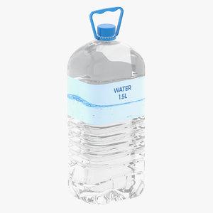 water bottle l 3D model