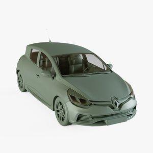 3D renault clio model