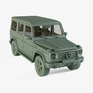 3D model mercedes