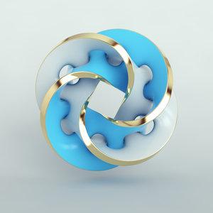 shape sculpture art 3D