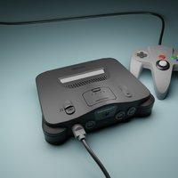 Nintendo 64 home video game consoles