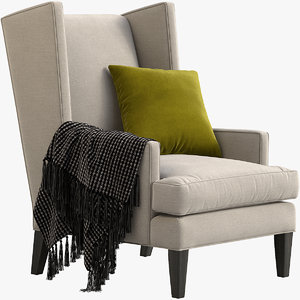 3D luxe chair