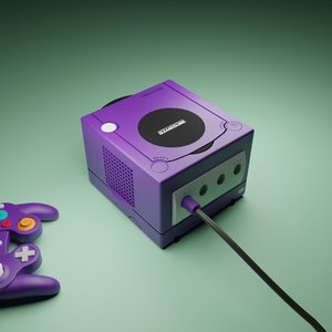 3D model nintendo gamecube home video