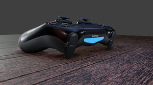 ps4 controller 3D