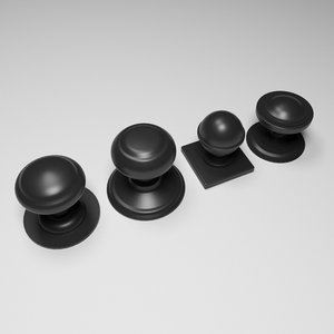 door knobs 3D model