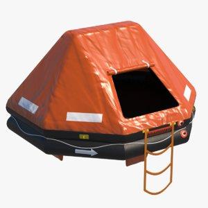 3D life raft