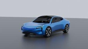 crossover polestar concept 3D model