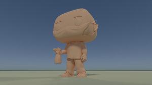 custom pop pandemic diy 3D