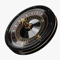 Black Roulette Wheel