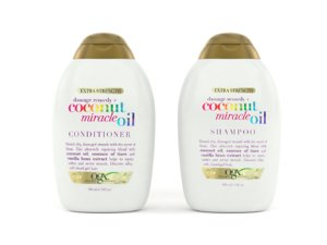 3D model coconut miracle oil shampoo