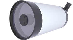 telescope maksutov cassegrain 3D model