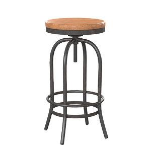 3D lehome rumba c051 stool