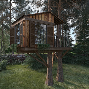 3D tree house