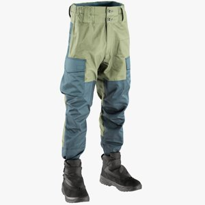 3D realistic men s pants