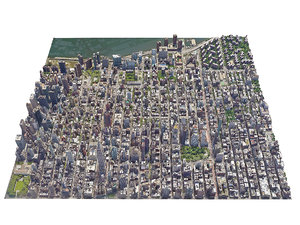 new york city manhattan 3D