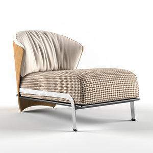 3D elba lounge chair