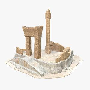 - persian building model