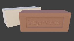 3D supreme brick