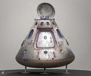 space capsule model