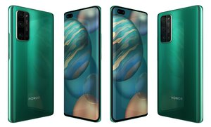 3D honor 30 pro emerald model