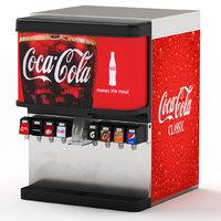 8-Flavor Ice & Beverage Soda Fountain System