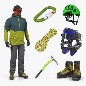 climbing equipment 4 3D