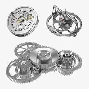 3D clock mechanisms 2
