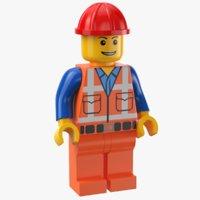 LEGO Worker Man