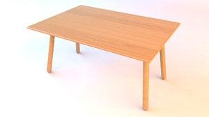 table furniture 3D model
