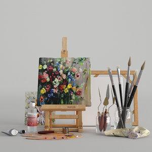 3D artist set s