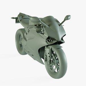sport bike 3D model