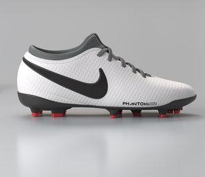 3D football boots model